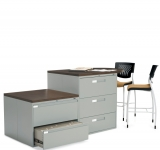 global filing island in business grey