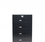 global security file cabinet in black