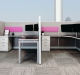 ROSI REcube Remanufactured Cubicle with 48 inch wall height