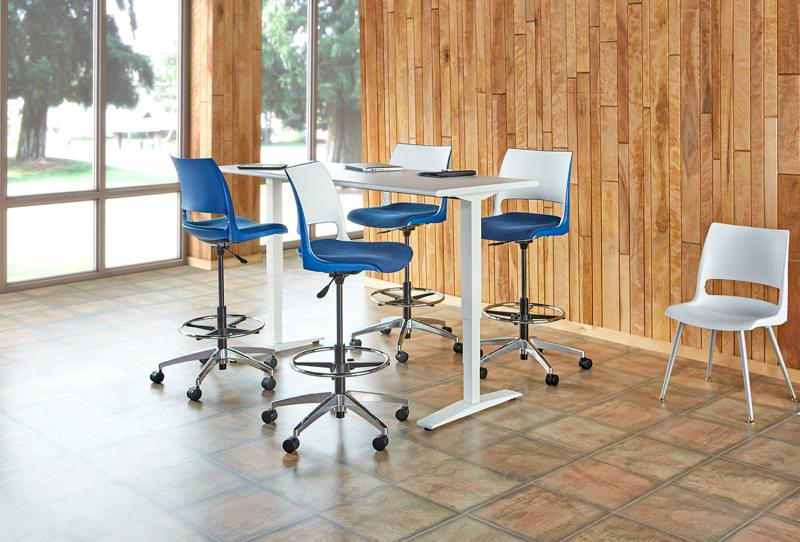 Standing Desks San Antonio TX - Tall meeting table