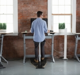 Locus Sit Stand Workstation by Focal Upright