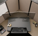 Sit Stand Cubicle Workstation