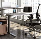Sit Stand Workstation By Mayline