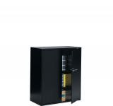 9300 storage cabinet in black
