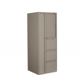 global personal storage tower in business grey