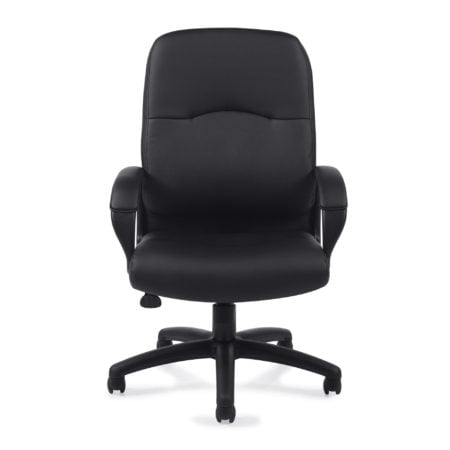 Offices To Go Black Luxhide Executive Chair OTG11617B