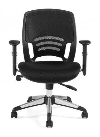 offices to go 11686b ergonomic managers chair front