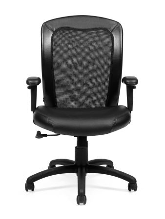 offices to go 11692 mesh ergonomic chair front