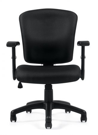 Offices To Go 11850B Task Chair Front