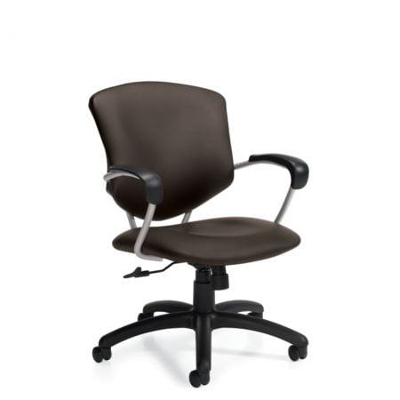 Global Total Office Supra Leather Task Chair 5331L-4