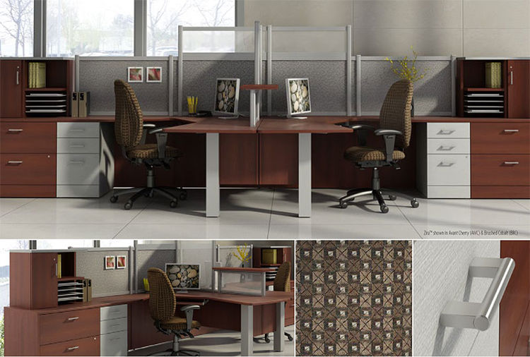 Collaborative office desks modern office furniture for teams Collaborative office interiors houston