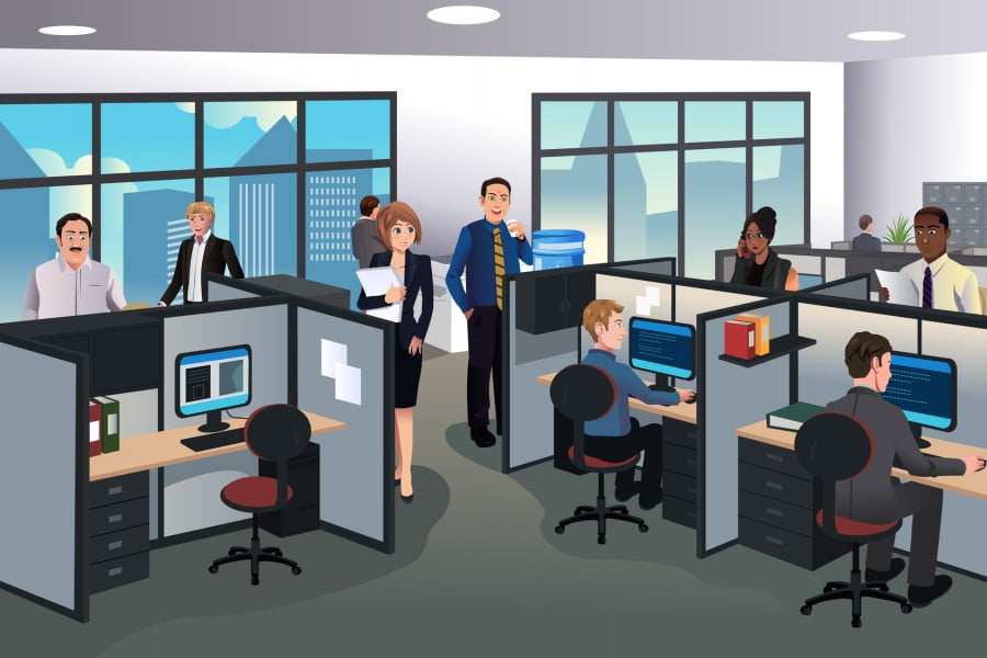 Can Office Cubicles Be Collaborative