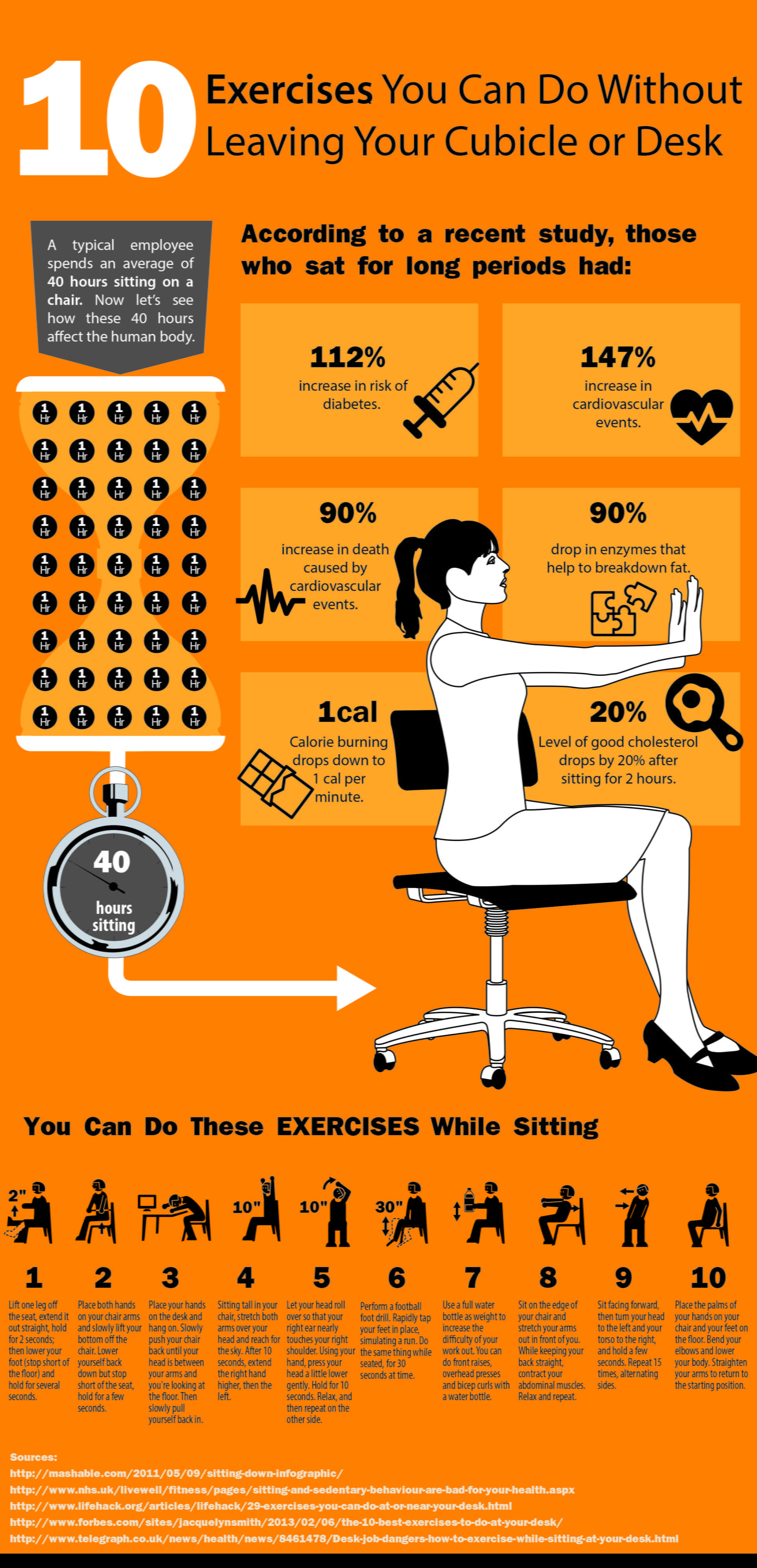 sitting step desk while with pictures exercise wikihow to how at