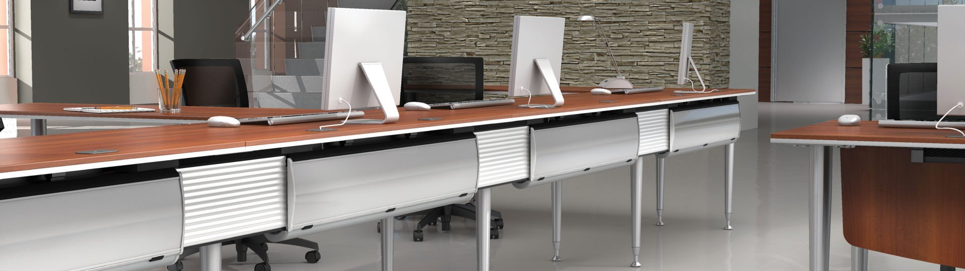 bungee modern workstations by global