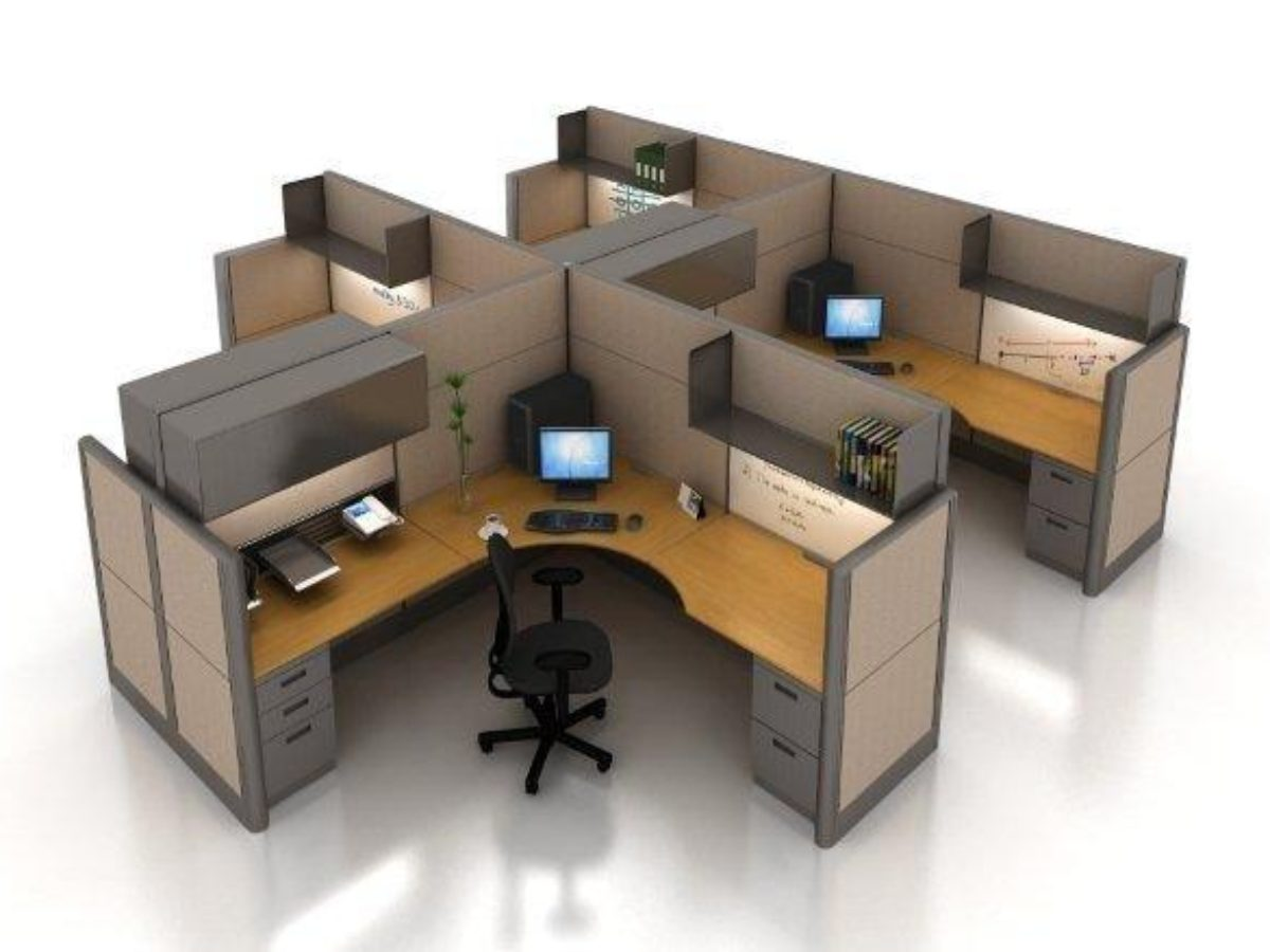 Used Office Cubicles  Houston TX  Remanufactured Workstations