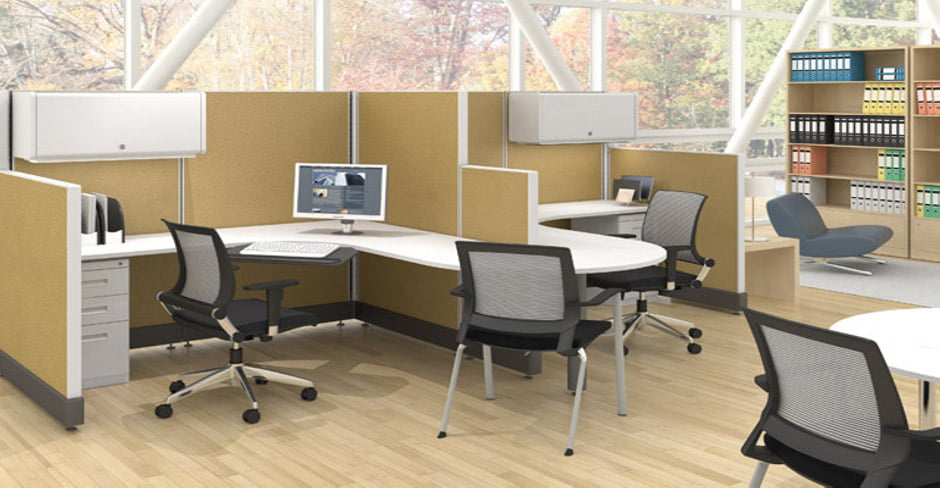what are the biggest and smallest sizes for cubicles?