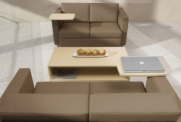 Reception Seating in Beige