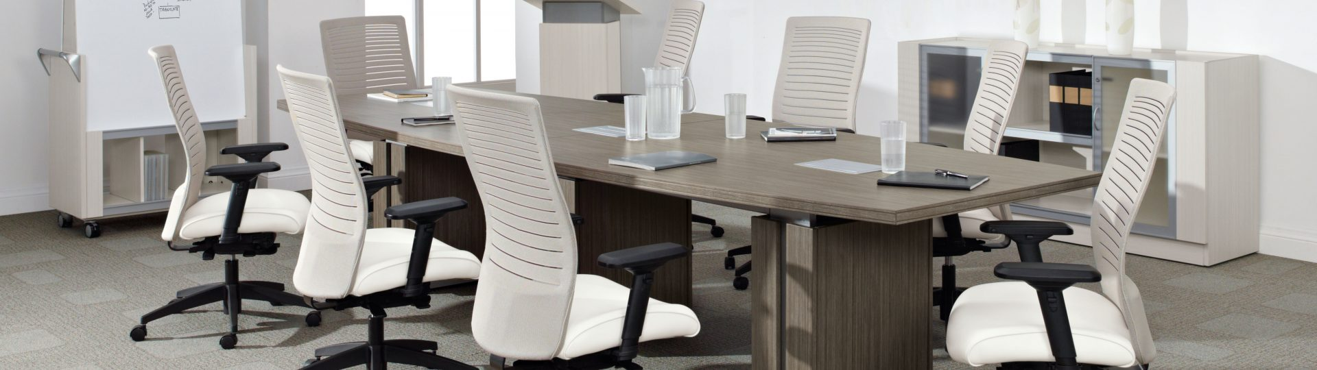 Global Accord Conference chairs and Zira Conference Table