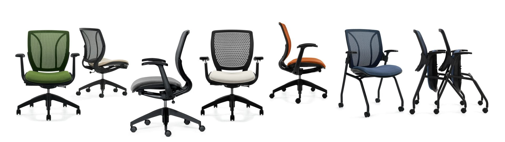 global desk chairs and seating