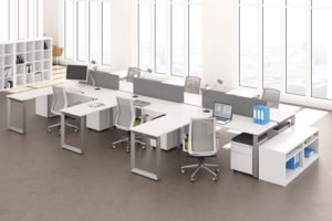 AMQ Icon Bench Desking