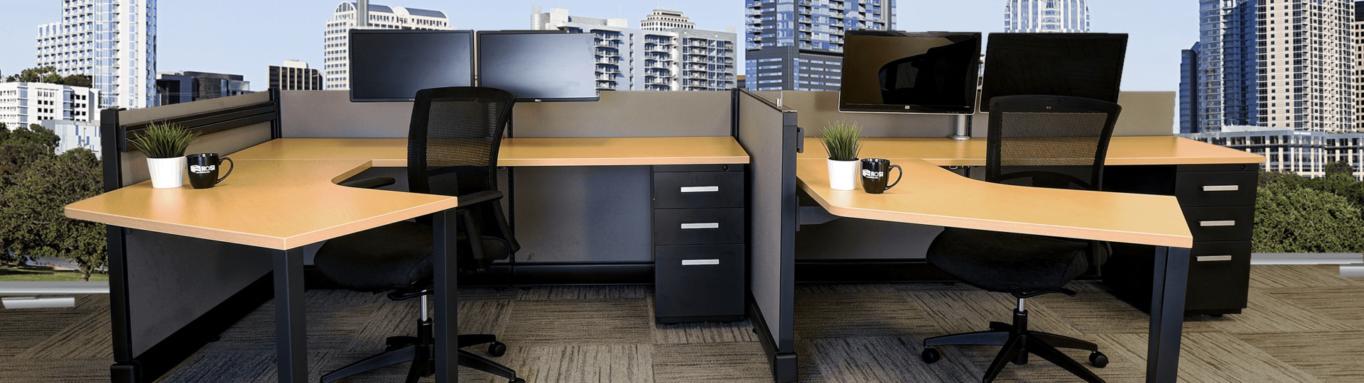 Synergy Office Cubicles by ROSI