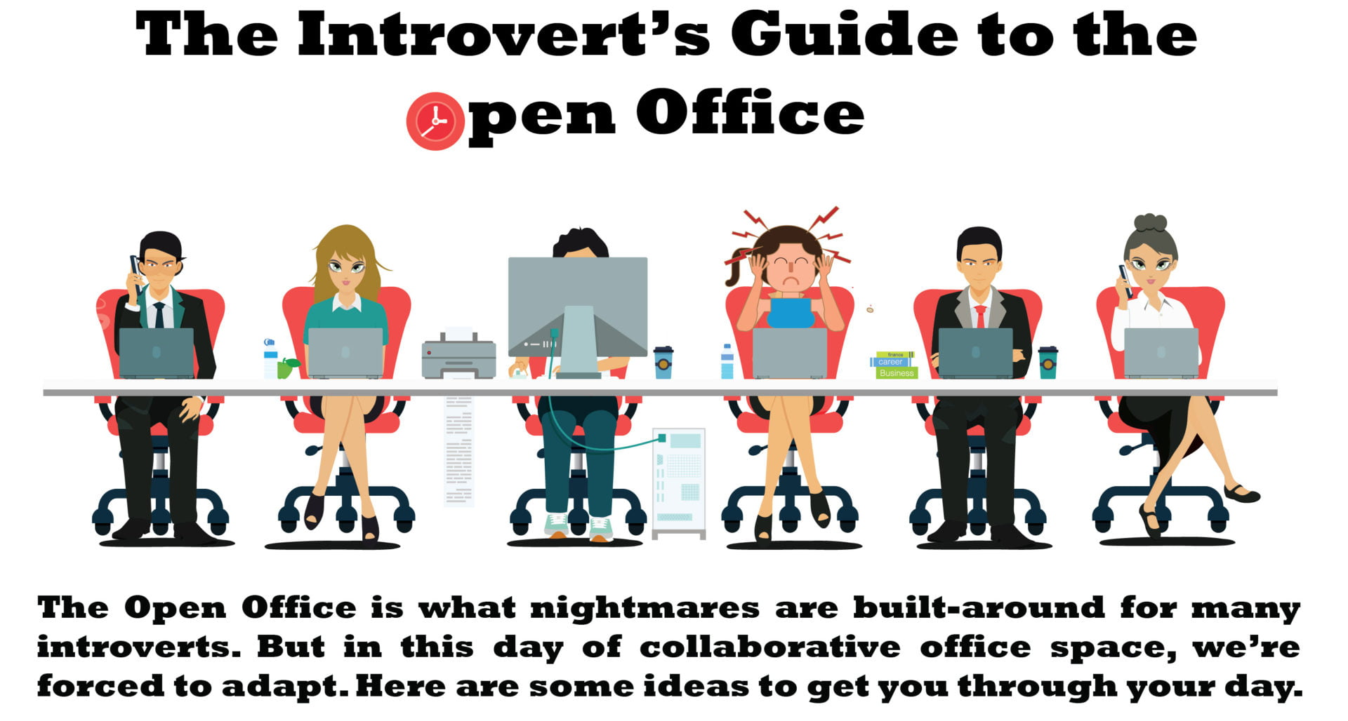an introverts guide to the open office
