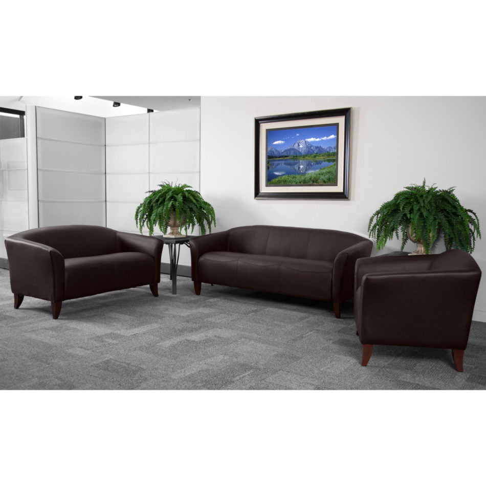 Hercules Brown Imperial Leather Reception Set