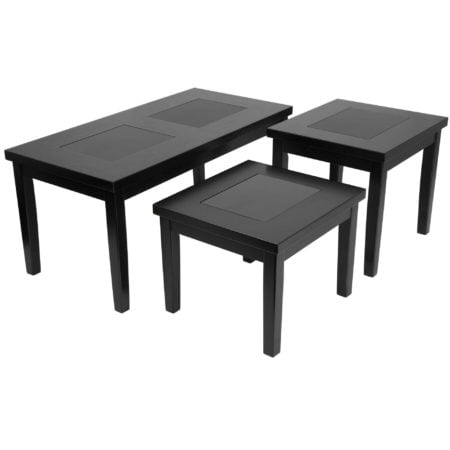 3 Piece Reception Area Occasional Table Set