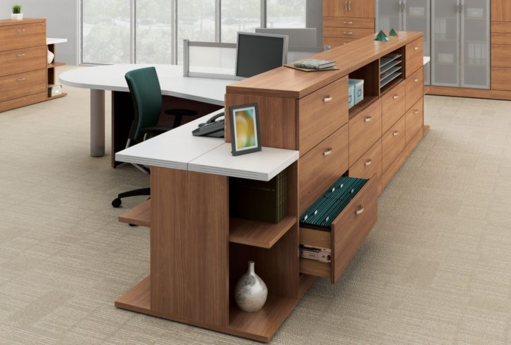 Global Zira Reception Desk Typical