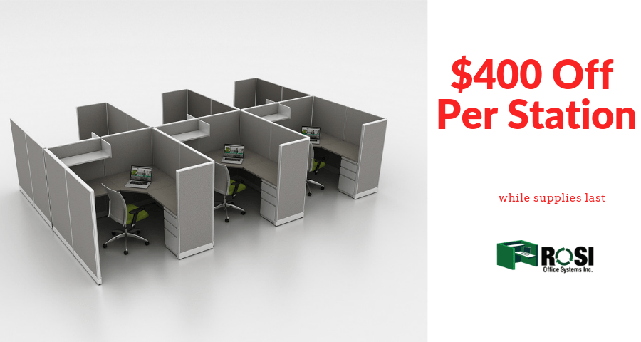 cubicle workstations on sale now