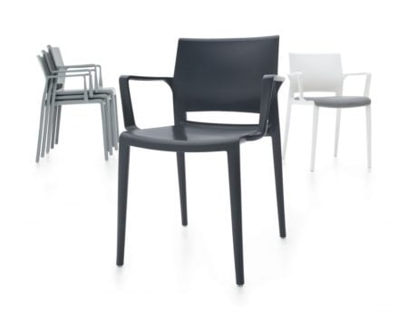 Bakhita Stackable Weather Resistant Chair