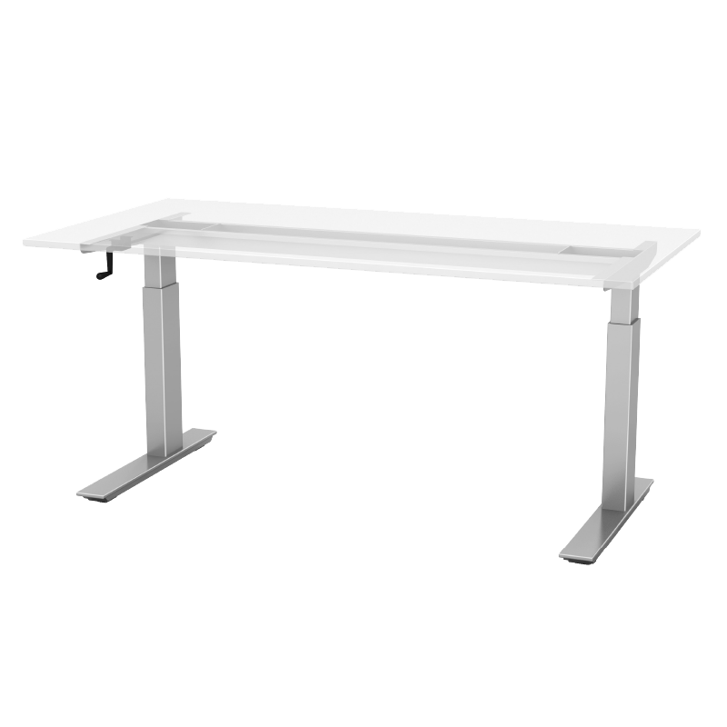Crank Manual Height Adjustable Table Base