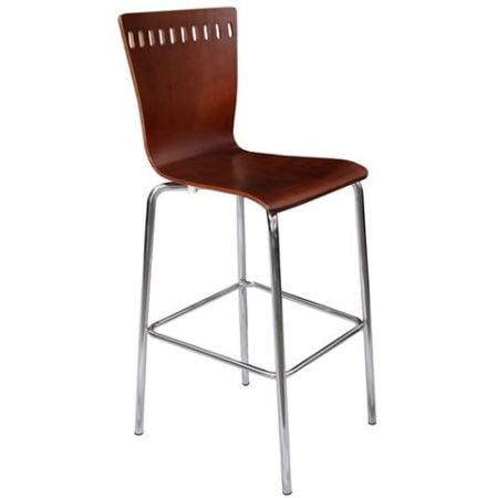 Turret Cherry Bar Stool