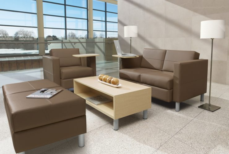 occasional tables for the office reception area