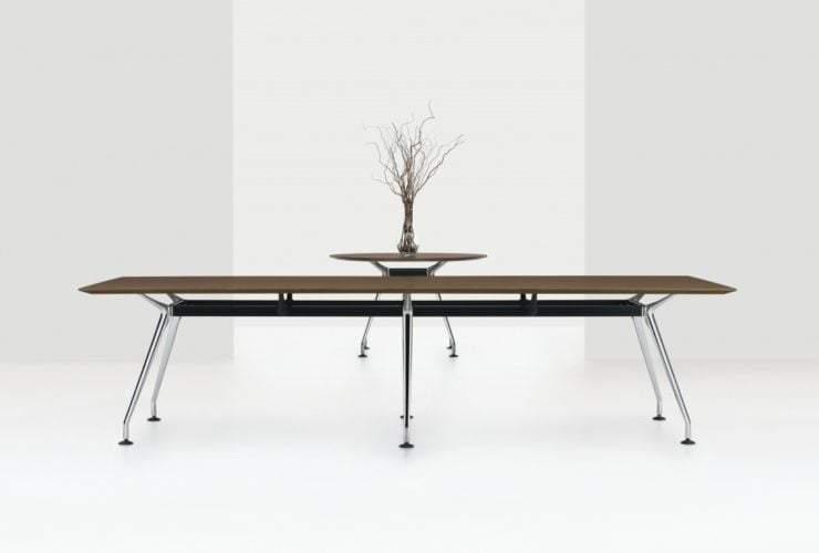 modern tables for the office reception area