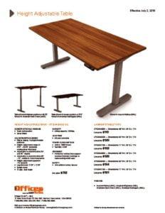 thumbnail of 070218 Height Adjustable Table Cut Sheet