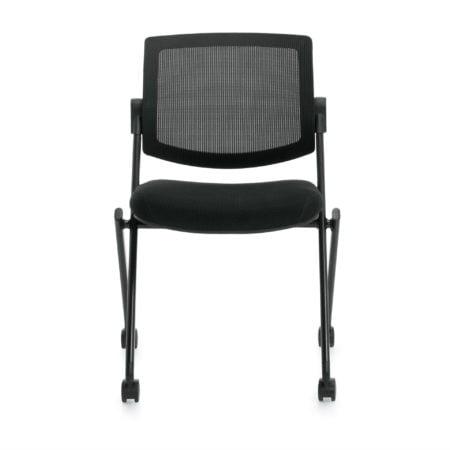 Mesh Back Flip Seat Nesting Chair