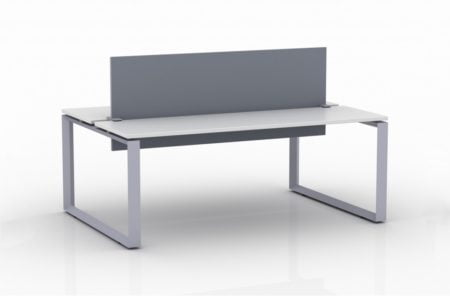 ICON 2-Pack Double Run Benching, with white background. This is our 72x30 inch bench, model IC095.