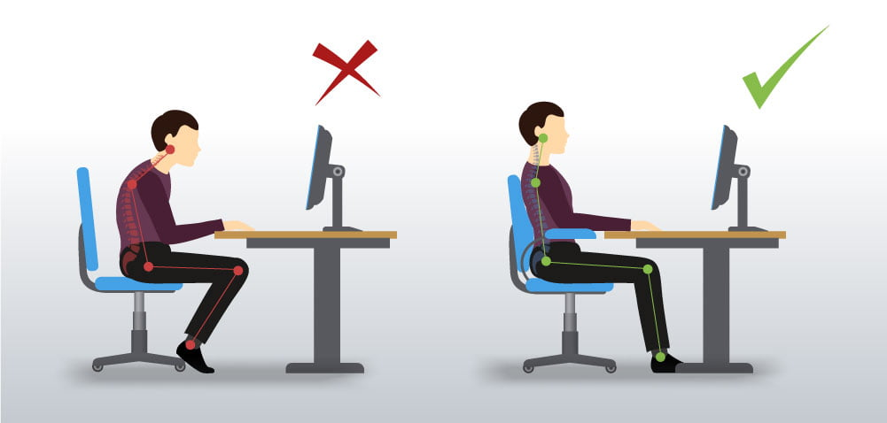 is your office chair ergonomic
